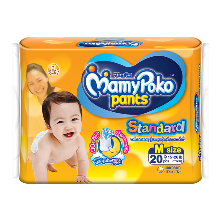 MamyPoko Eco Pants Diaper / M