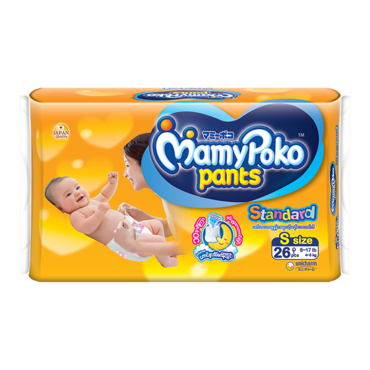MamyPoko Eco Pants Diaper / S