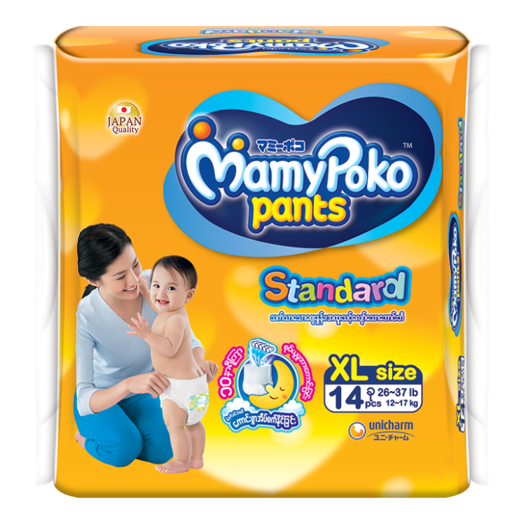 MamyPoko Eco Pants Diaper / XL